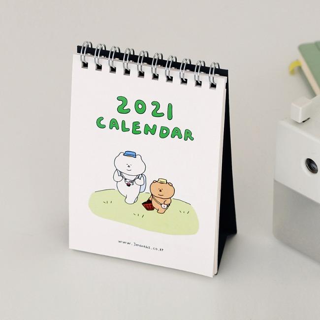 [쓰리먼쓰] 2021 캘린더