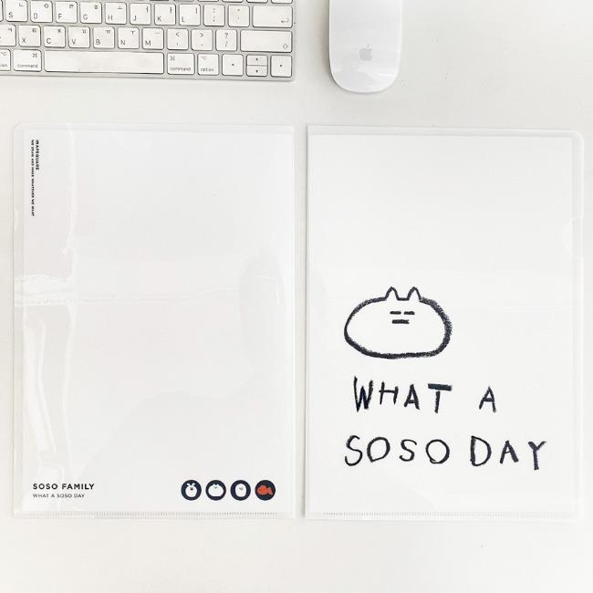 [이나피스퀘어] WHAT A SOSO DAY FILE