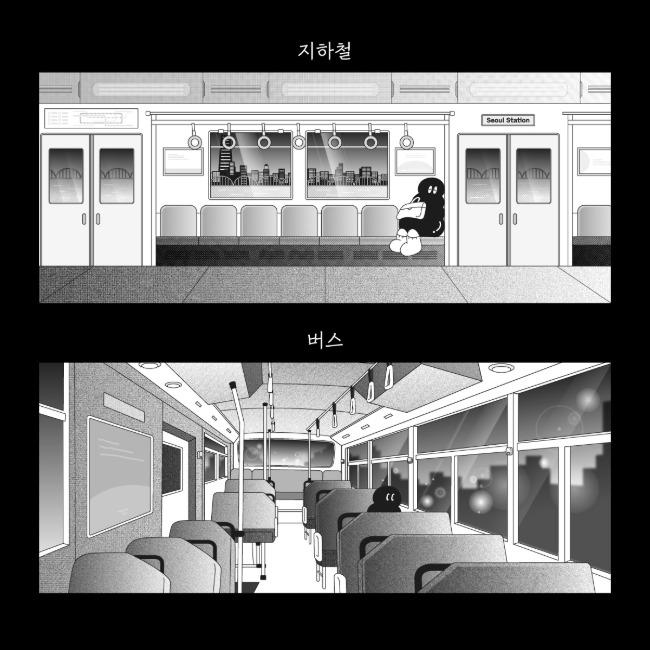 [오이웍스] 대중교통 포스터 (2종)
