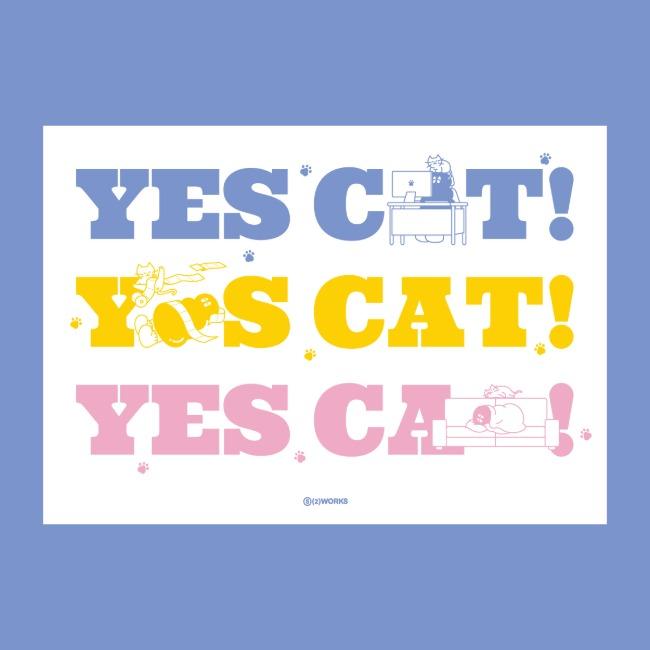 [오이웍스] YES! CAT! 포스터