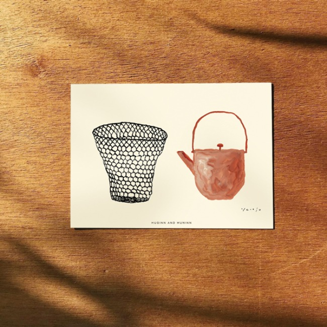 [후긴앤무닌] basket and pot