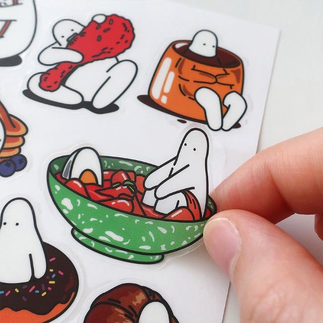 [미스터두낫띵] Food sticker