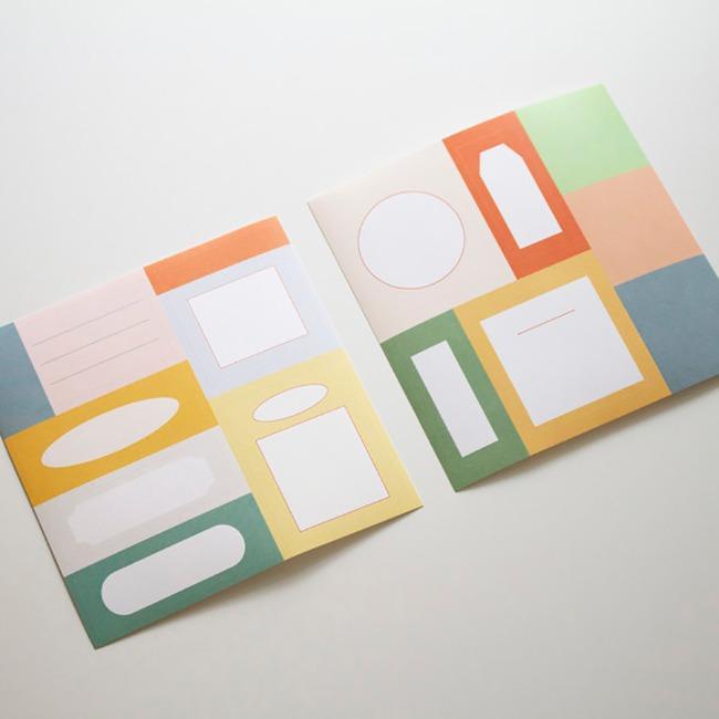 [ppp studio] [sticker] memo sticker