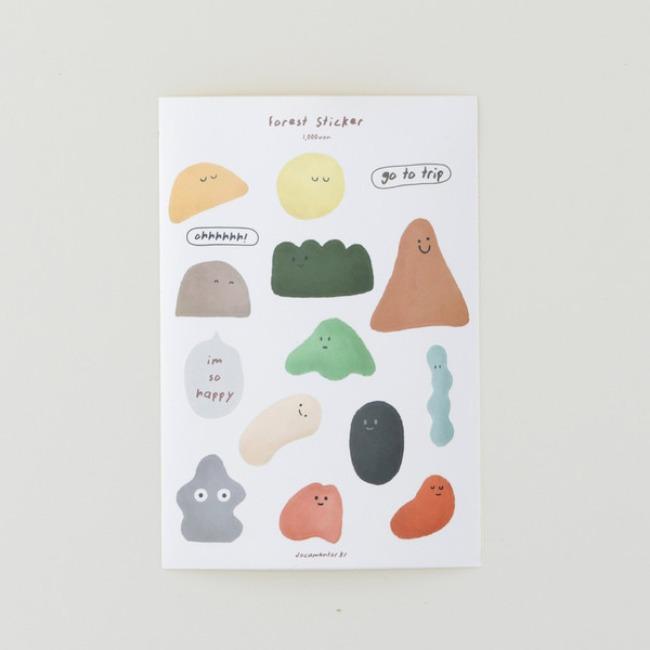 [도큐멘토] forest sticker