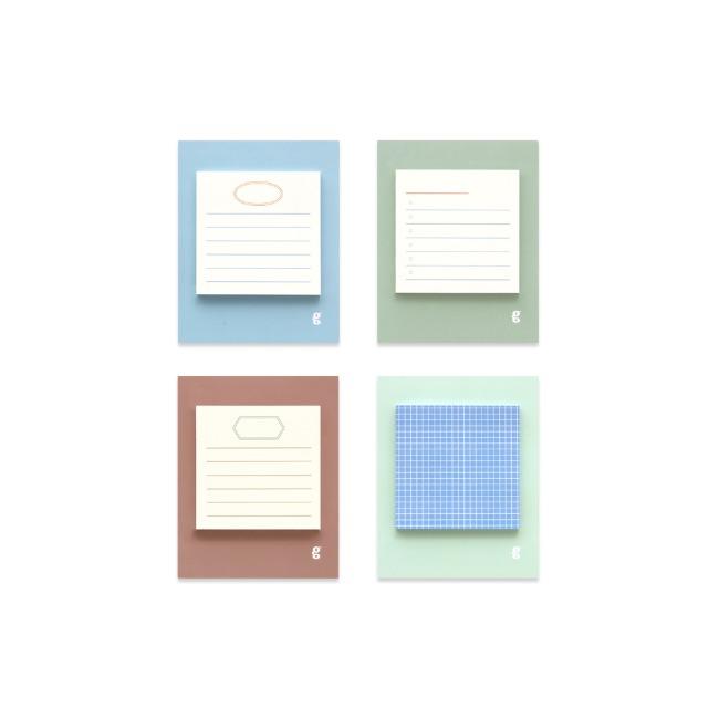 [공장] Square sticky pad _ lake