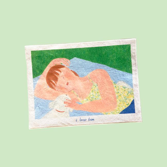 [어레터프롬] 피크닉 Fabric poster
