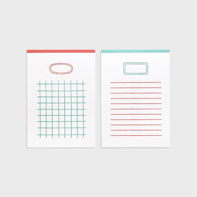 [공장] Writing pad (m)