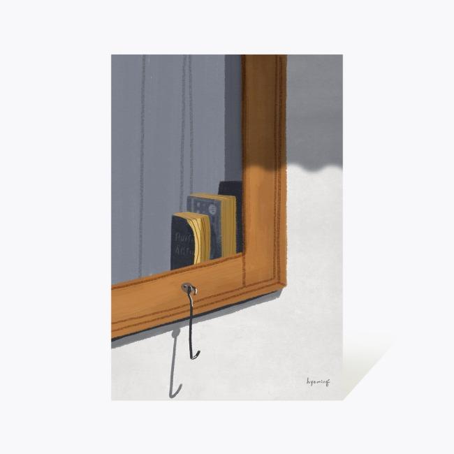 [hyeming] 엽서 37_여행자의 창