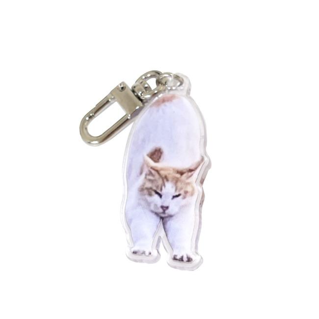 [길동물] 스트레칭 하는 고양이 키링