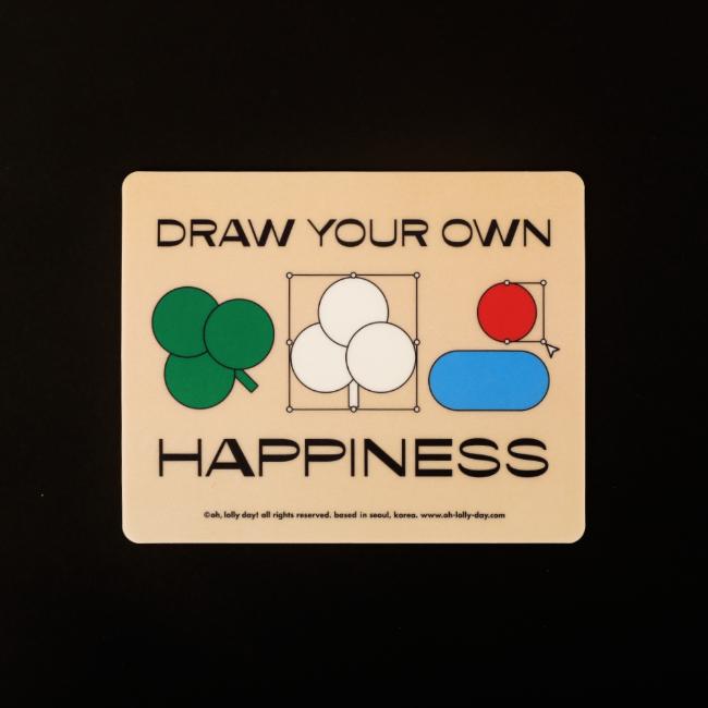 [오롤리데이] [Mouse pad] LHH draw mouse pad