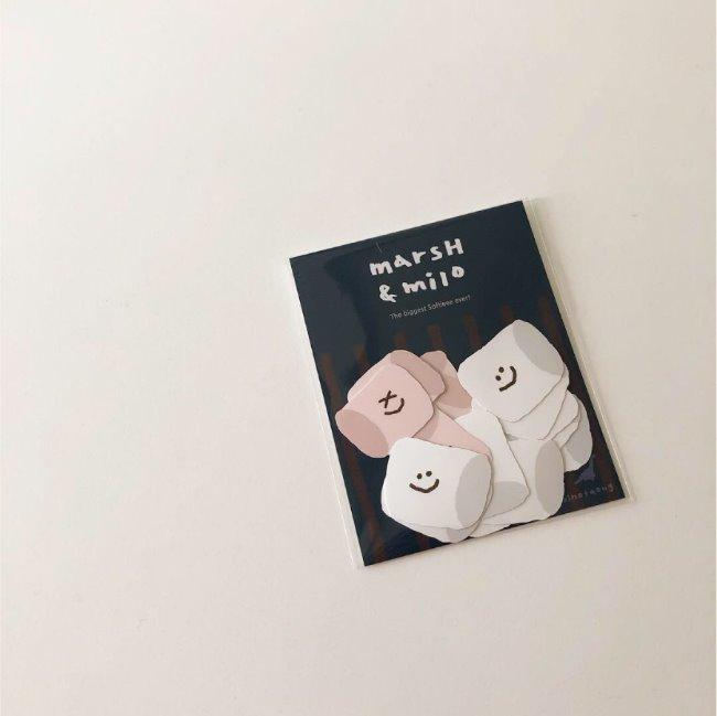 [다이노탱] Marsh & Milo Sticker