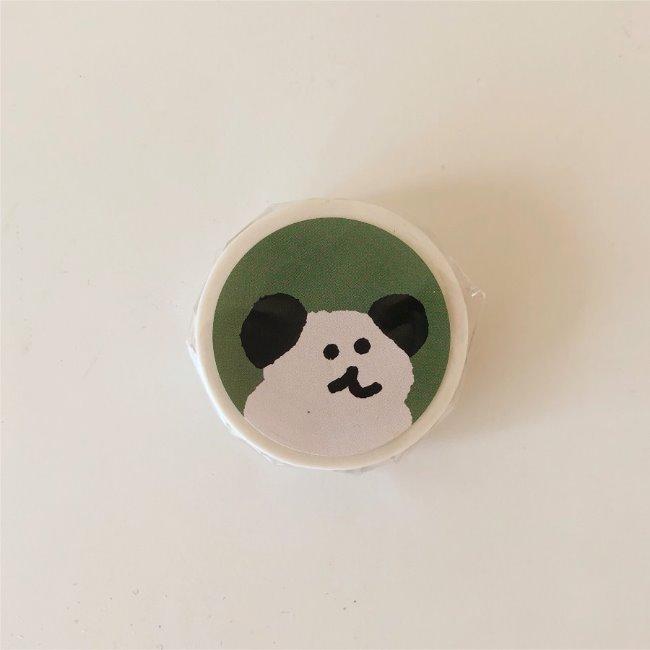 [다이노탱] Bobo Forest Masking Tape