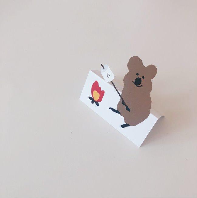[다이노탱] S'more Quokka Sticker