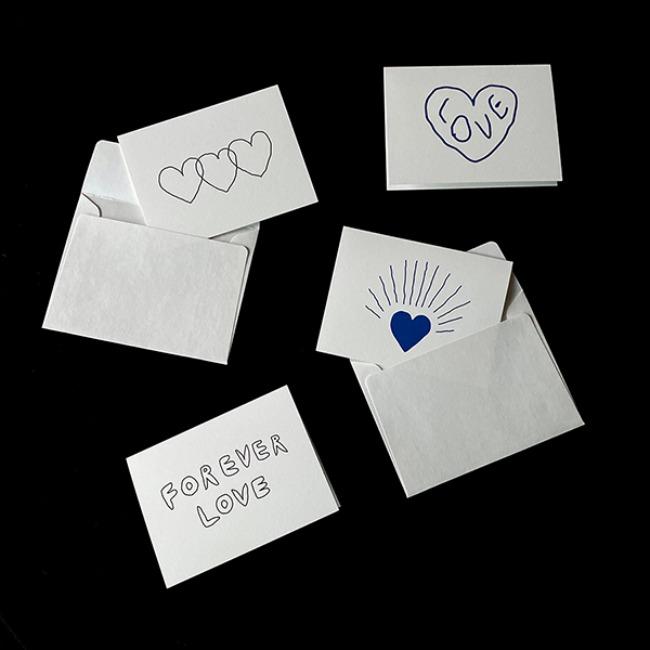 [이나피스퀘어] FOREVER LOVE CARD 4종(봉투포함)