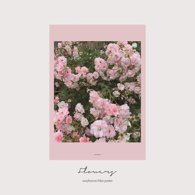[조이브라운] FLOWER poster(A4)
