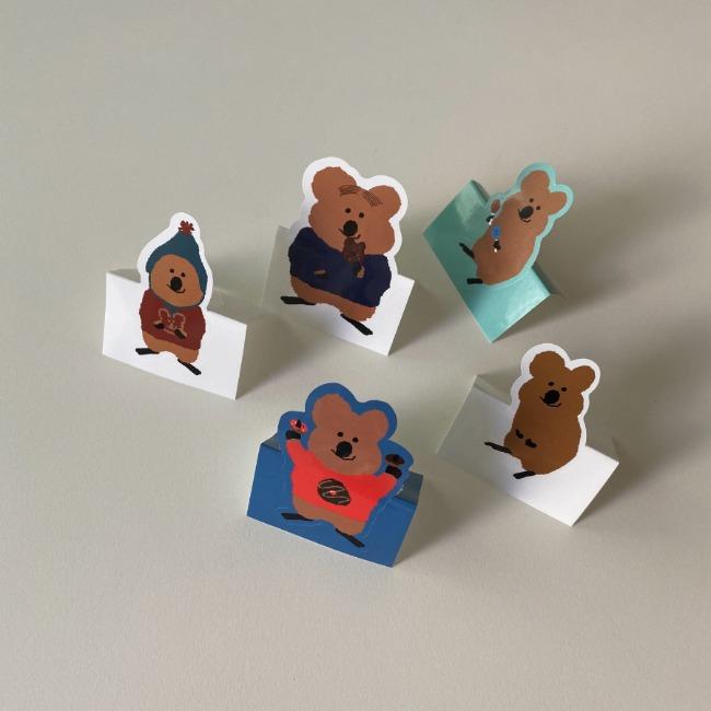 [다이노탱] Quokka Sticker Pack
