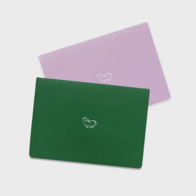 [공장] 21 Monthly planner_green,lilac
