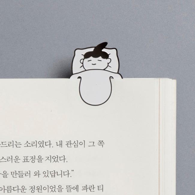 [매일의귀여움] 꿈꾸는 책갈피_여자아이