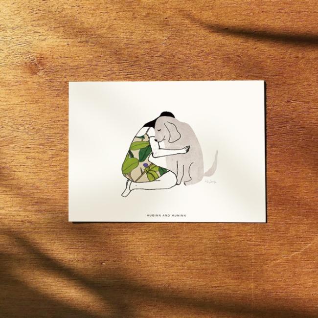 [후긴앤무닌] dog and me 04