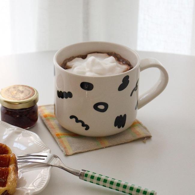 [ppp studio] [cup] wagle wagle mug