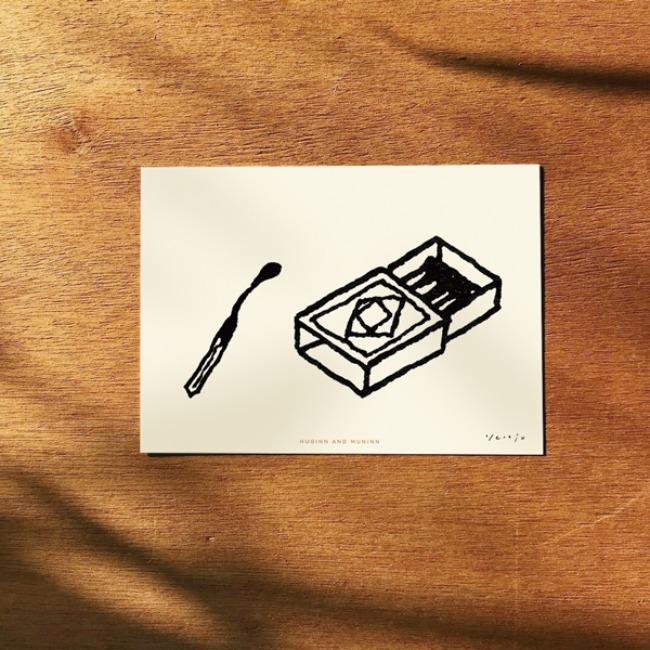 [후긴앤무닌] match box