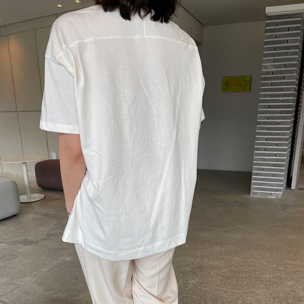 허쉬 언발 티셔츠