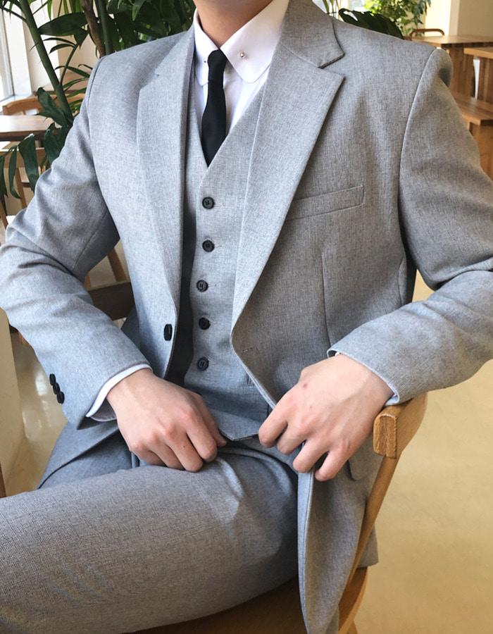 古典系單排釦西裝套裝
