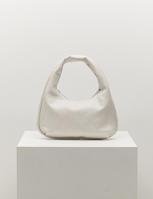 mini plump bag (cream)