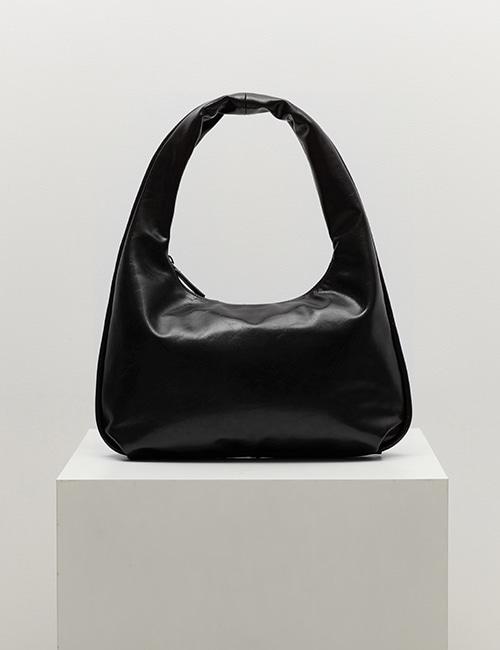 plump bag (crinkle black)