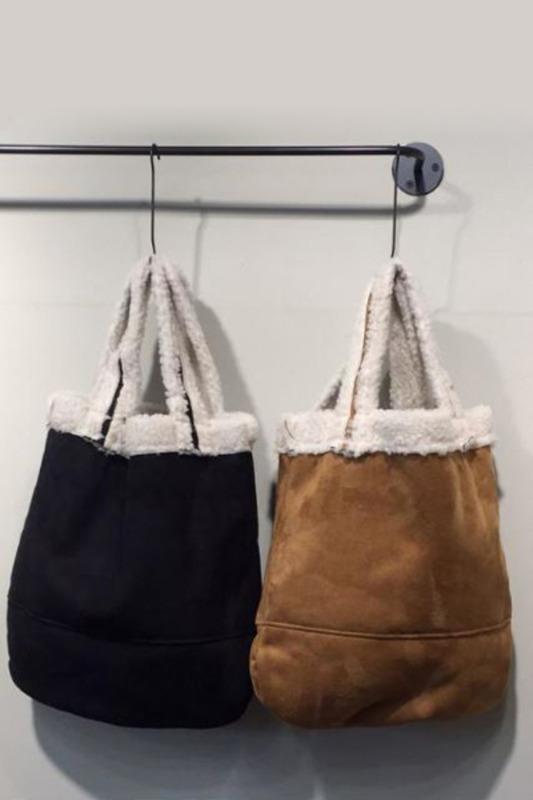 무스탕 가방