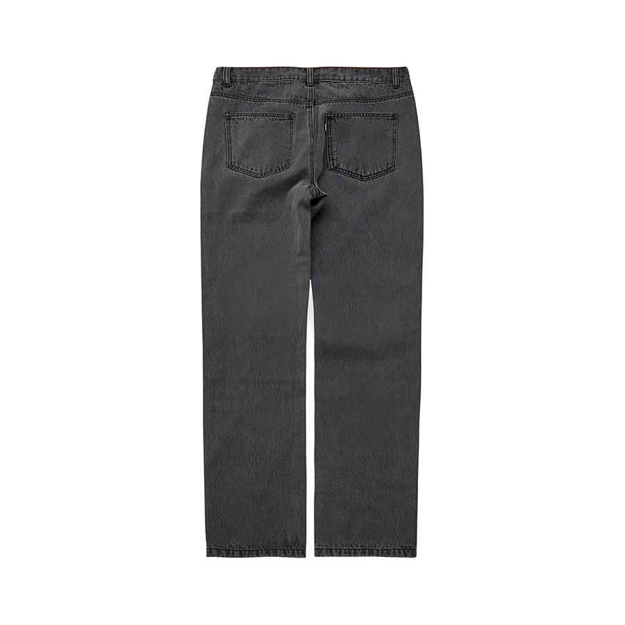 Wide Denim Pants BK