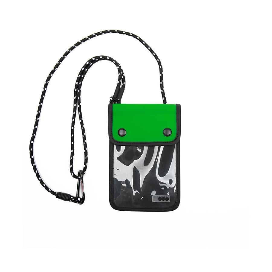 Mobile Mini Cross Bag Green
