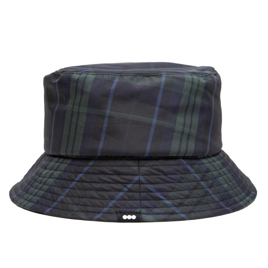 Check Bucket Hat Green