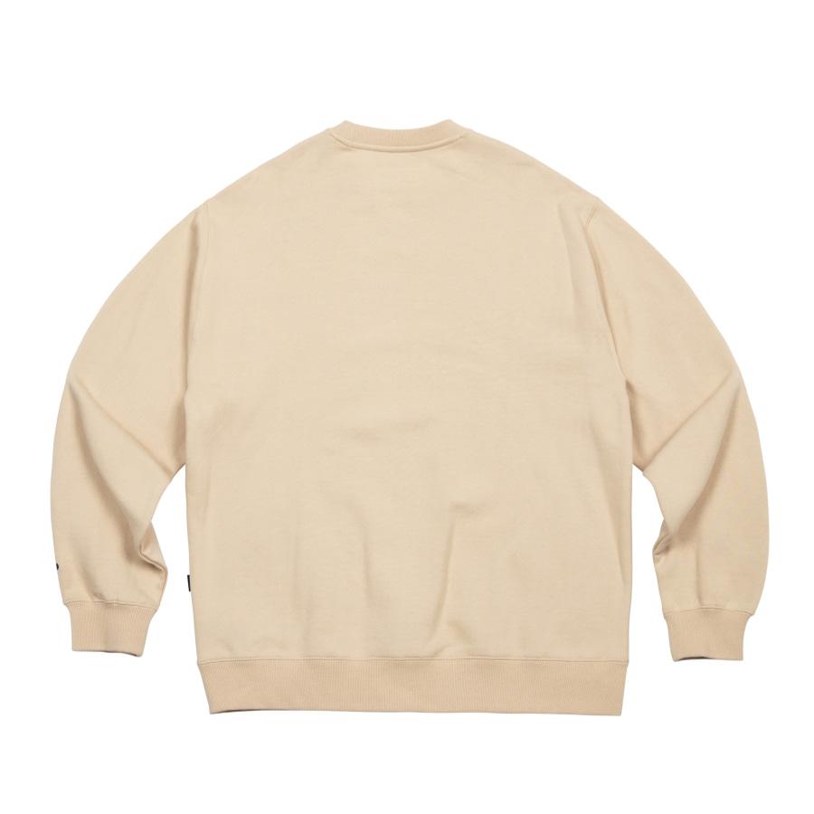 Always EMB Sweatshirt Beige