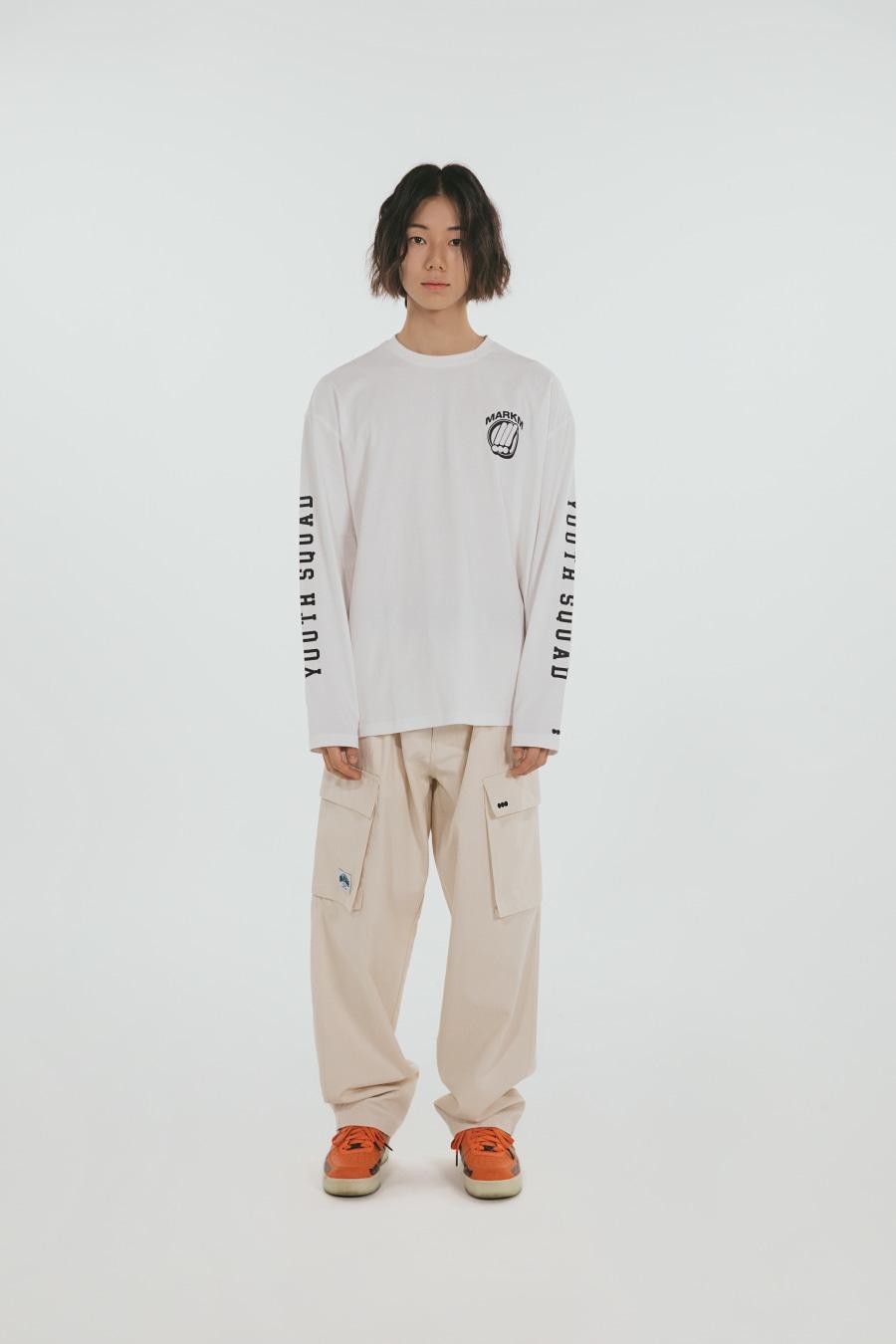 [포토카드 part.1 증정] Youth squad Long Sleeve White