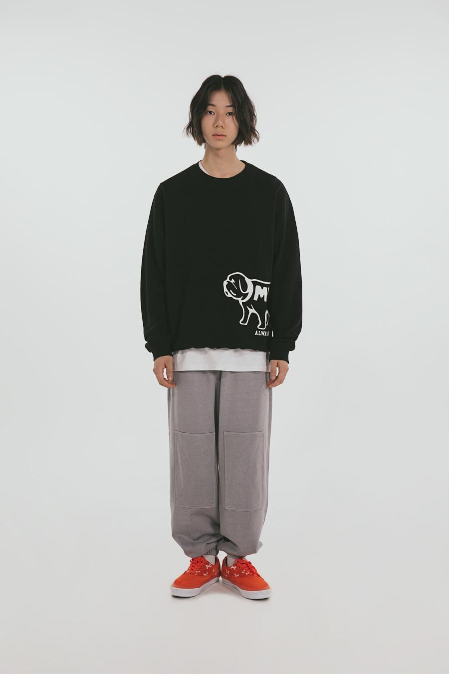 [포토카드 파트1. 증정] ALWAYS Love My DOG Sweatshirts Black