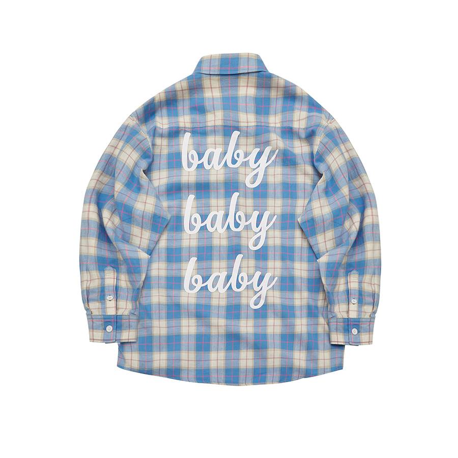 Baby Baby Baby Tartan Check Shirts SKL
