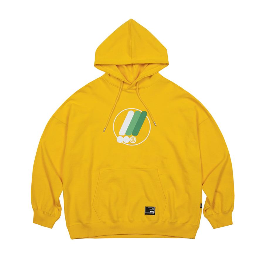Symbol Hoodie  Yellow