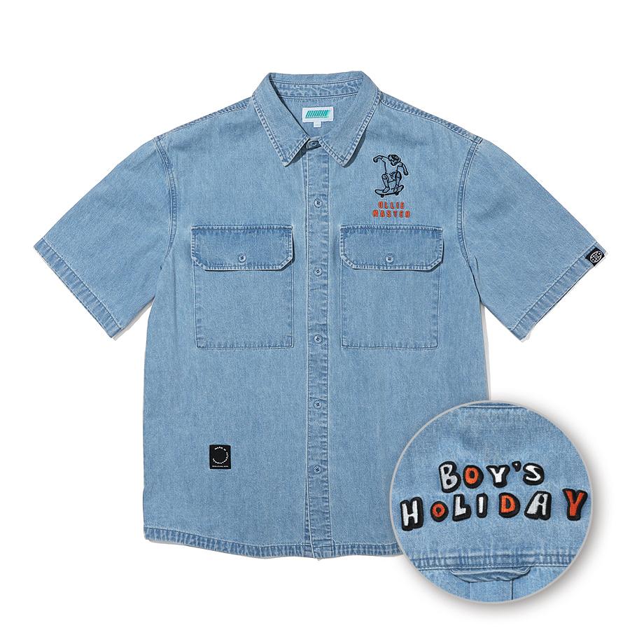 Ollie Master Denim Shirts Blue