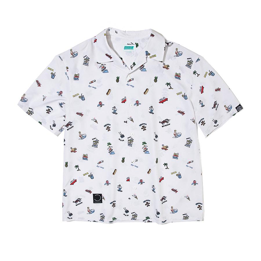 Holiday Resort Shirts White