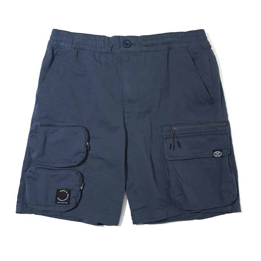 Utility Pocket Shorts Blue
