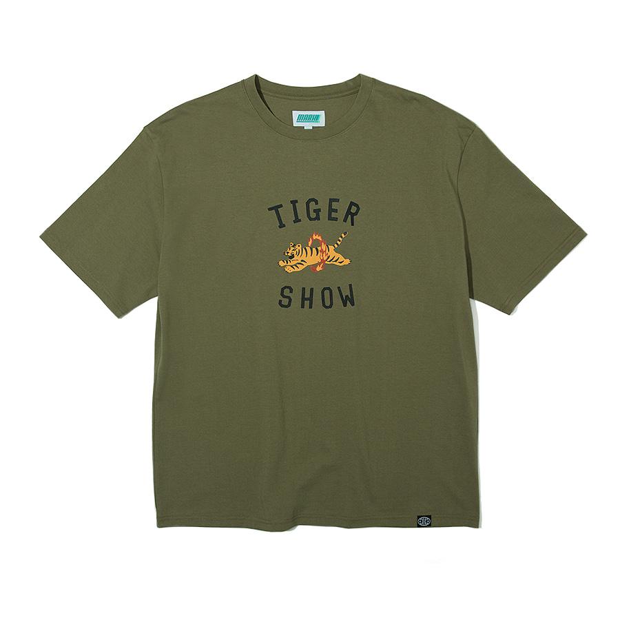 Tiger Show T-Shirts Khaki
