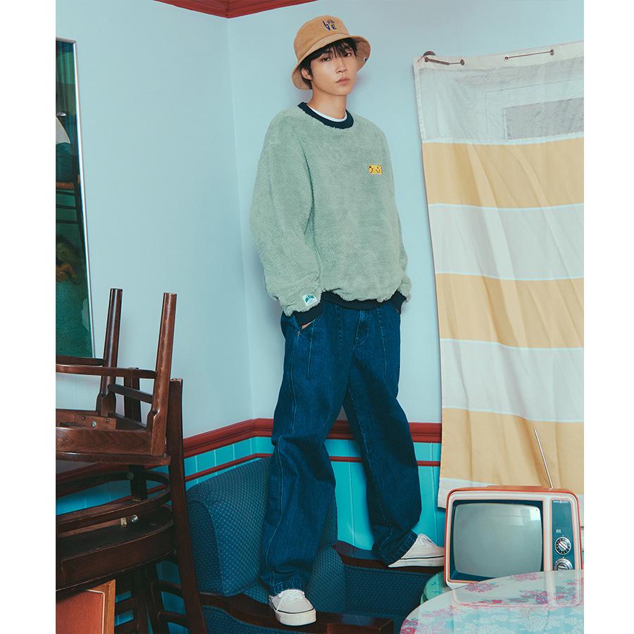 [포토카드 part.1 증정] [마크엠X황인엽] City Boy Fit Denim Pants Blue