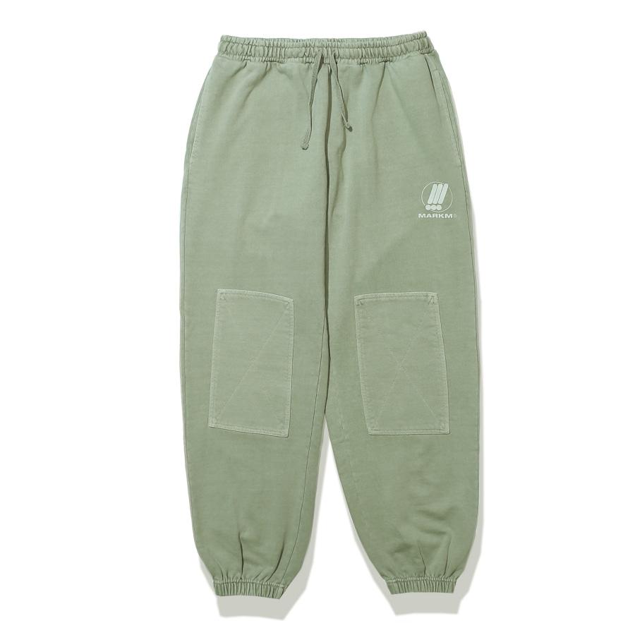 [포토카드 part.1 증정] Patch Pigment Pants Khaki