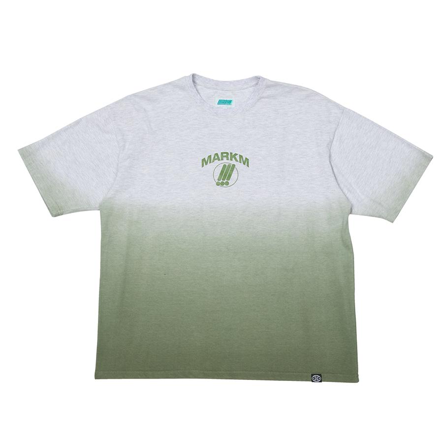 Gradient Dyeed T-shirt khaki