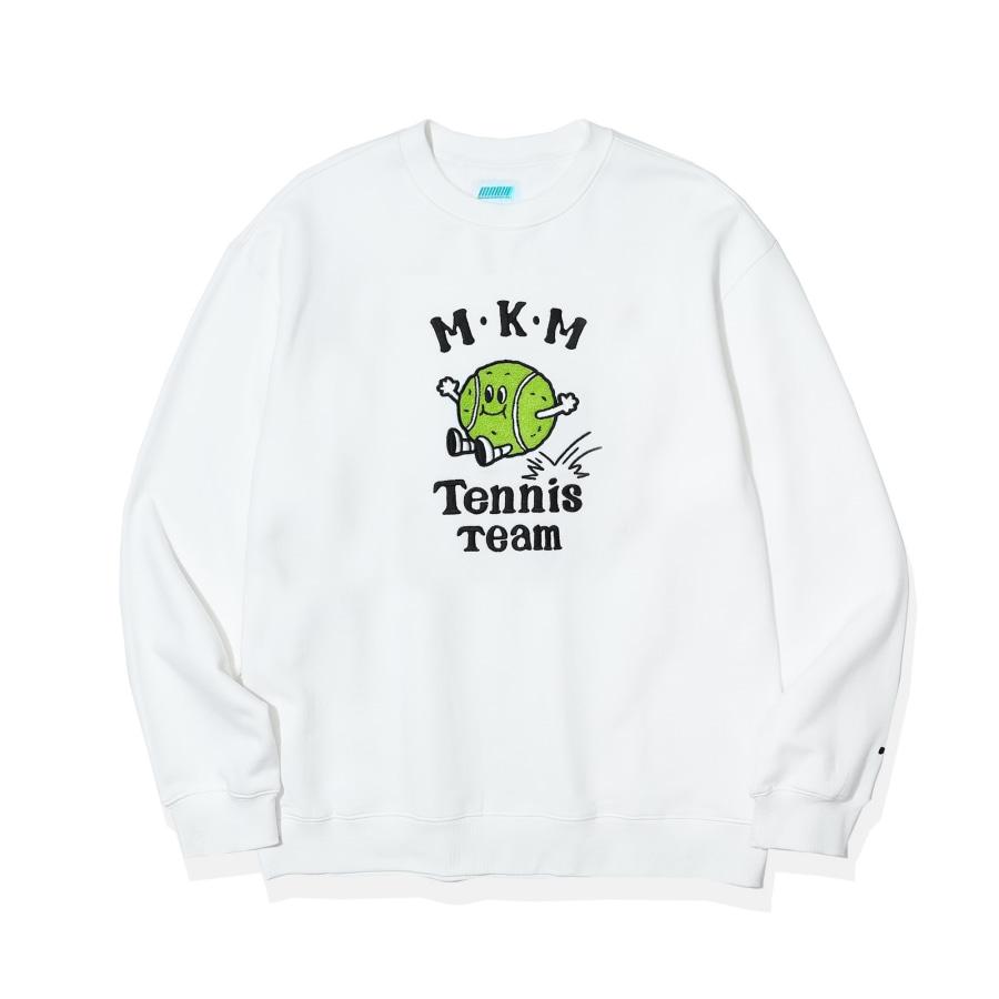 [포토카드 파트2. 증정]  Tennis Team Graphic Sweatshirts  OFF White