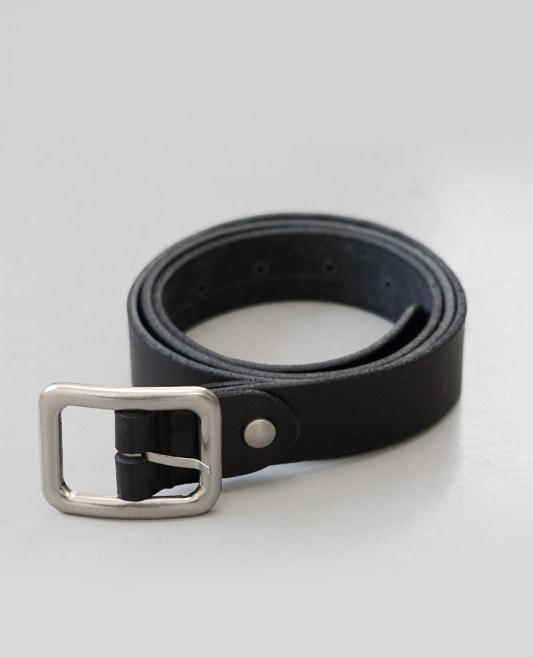 레더 스퀘어 belt (소가죽 100%)