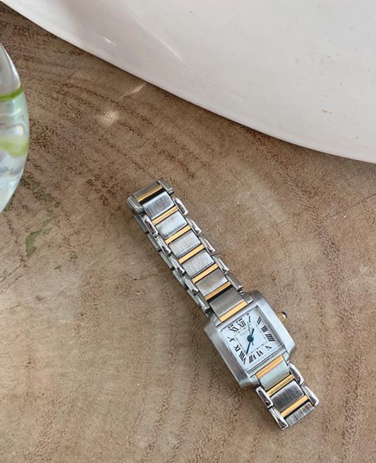 톰스 메탈 시계