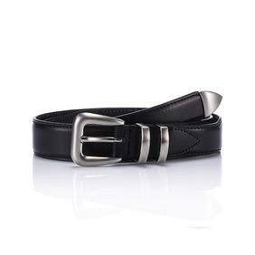 106 Leather Belt - Black
