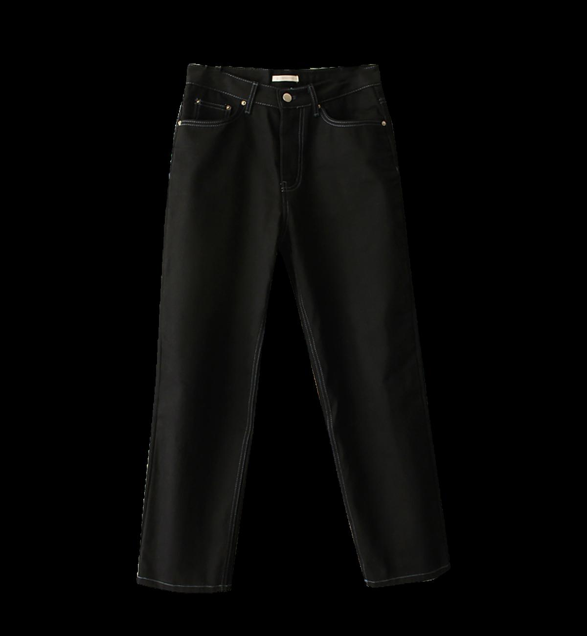 (남녀공용) basic pants black